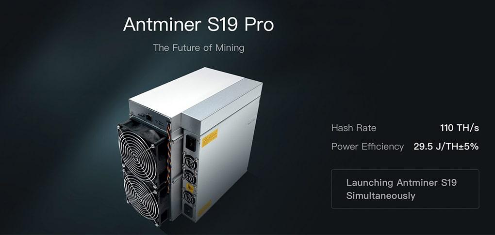 دستگاه Antminer S19 Pro از برند Bitmain